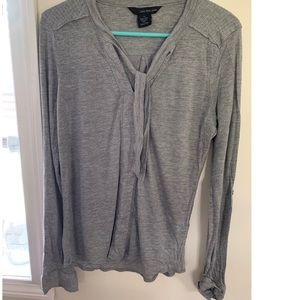 Calvin Klein gray long sleeve